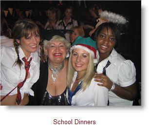 Nikkis Birthday at School Dinners