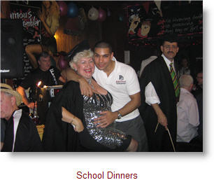 Mrs Bedworthy at School Dinners with Eaten Boy S